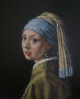 Remake Girl with pearl earring